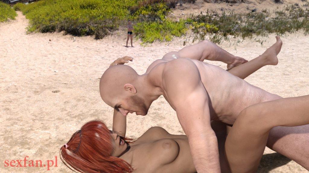 opowiadanie erotyczne dzika plaża