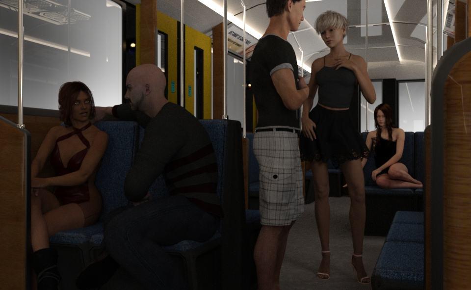 sex w metrze