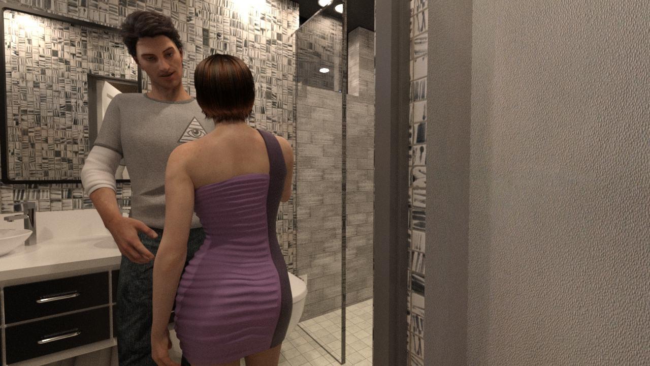 Domówka – opowiadanie erotyczne